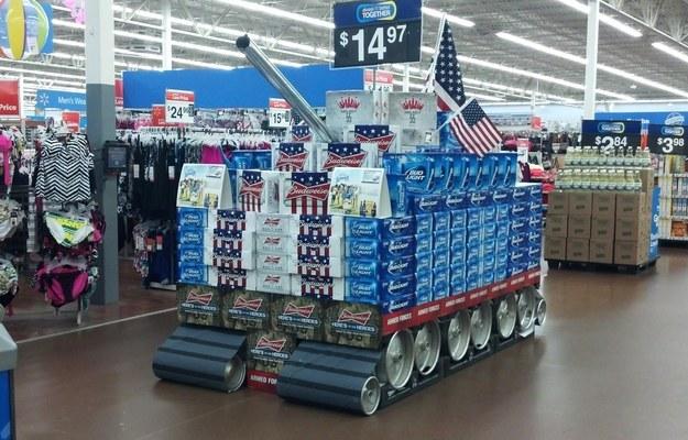 Cómo se exhiben los productos de las tiendas en Estados Unidos: