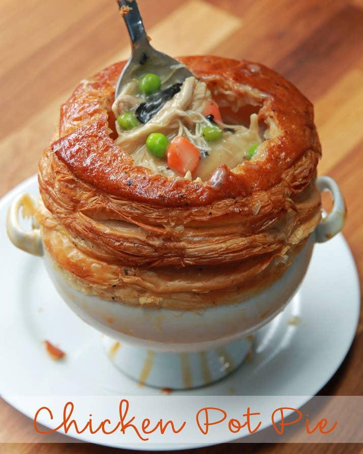 Wolfgang puck pot pie maker recipes for Best mini pie maker