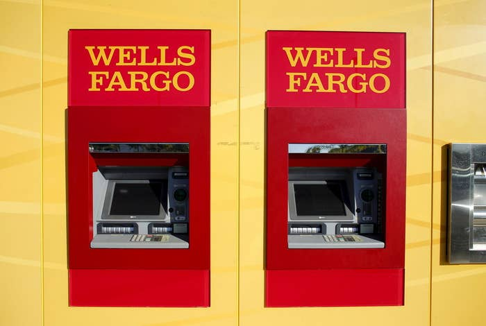 Wells Fargo ATM bank machines are shown at one of their new retail banks in Carlsbad, California January 25, 2016. REUTERS/Mike Blake