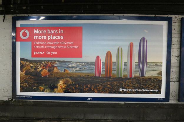 Las vallas publicitarias en otro país: