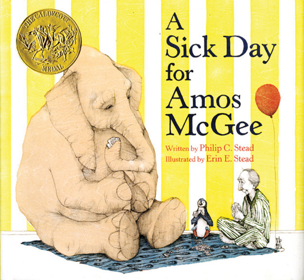 A Sick Day For Amos McGee by Philip C. Stead and Erin E. Stead