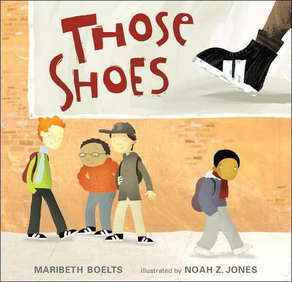 What It's About: In this book, we see a young boy dreaming about getting a pair of really cool shoes. Unfortunately, his family does not have the money for this dream to become a reality. He eventually finds the shoes in a thrift shop in near perfect condition and buys them even though they are too tight. Another kid in his class can't afford new shoes either, and his feet would fit in the cool shoes when the narrator's would not. So, the narrator decides to give his shoes away.Why It's Important: This book highlights the importance of giving and making difficult decisions. We see the narrator struggle to decide if he can really give his shoes away, but when he decides to, both he and the boy who receive his shoes end up happier than they were before.