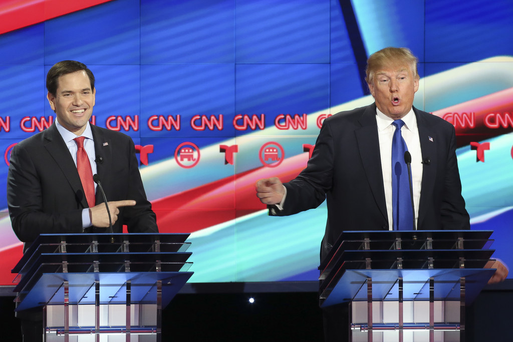 Donald Trump Dared Marco Rubio To Hit Him — So He Did