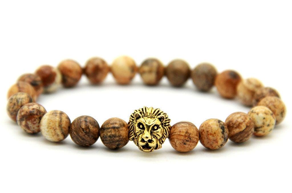 Jasper Stone Bracelet, $20