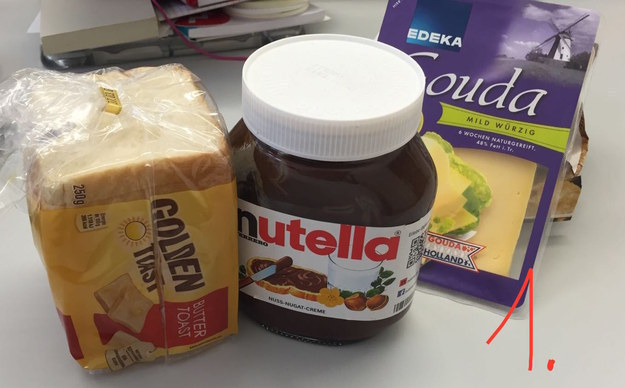 So much so, that BuzzFeed's German team tried making a Nutella and cheese sandwich to find out what all the fuss was about.