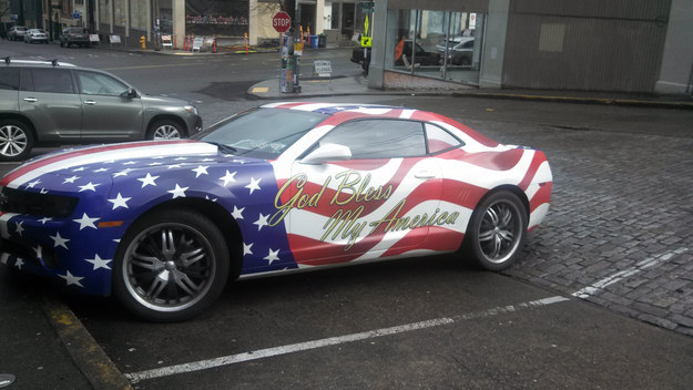 Los carros en Estados Unidos: