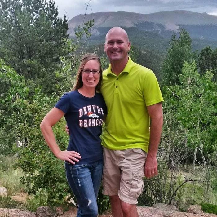 Doug Schroeder and wife.