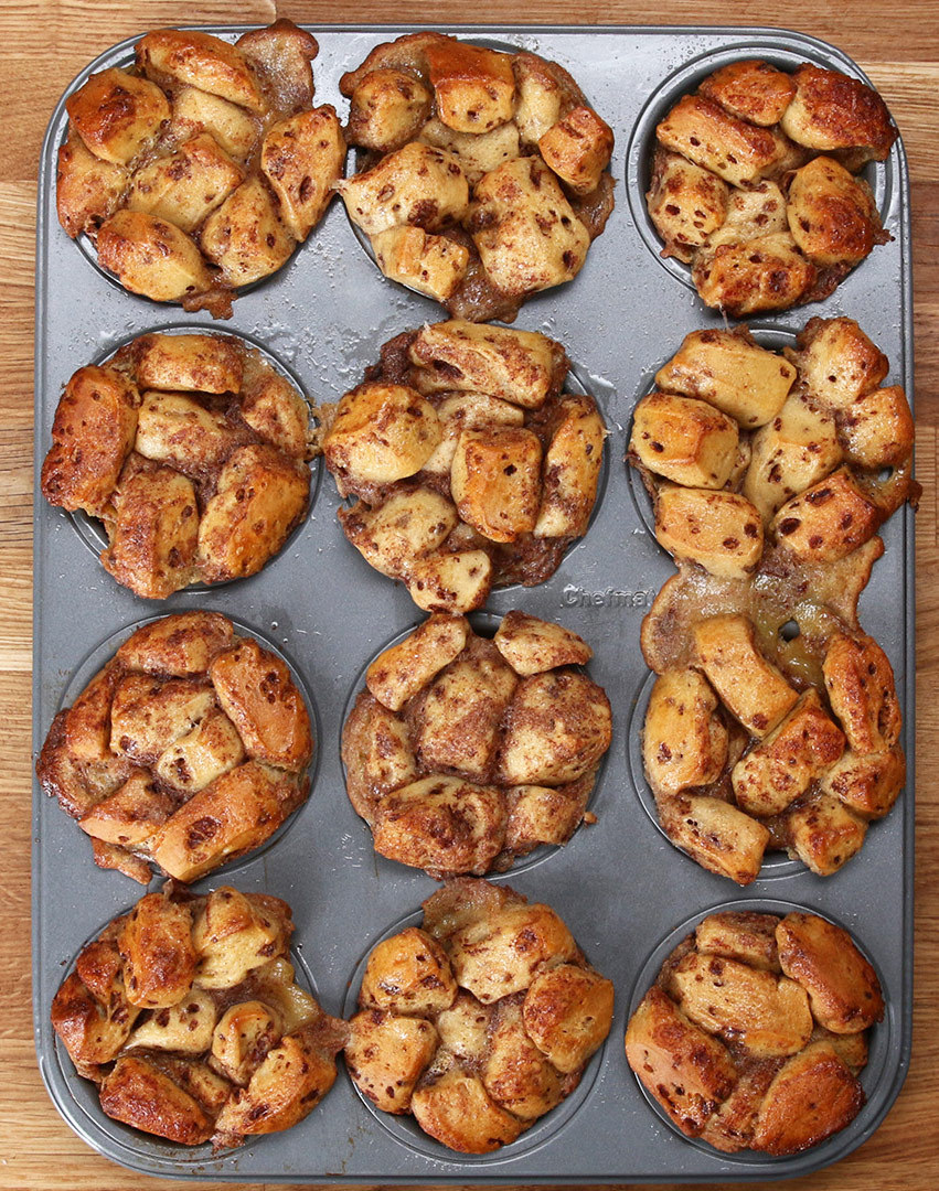 Your Weekend Brunch Plans Just Got Better With This Recipe For Cinnamon Roll Muffins