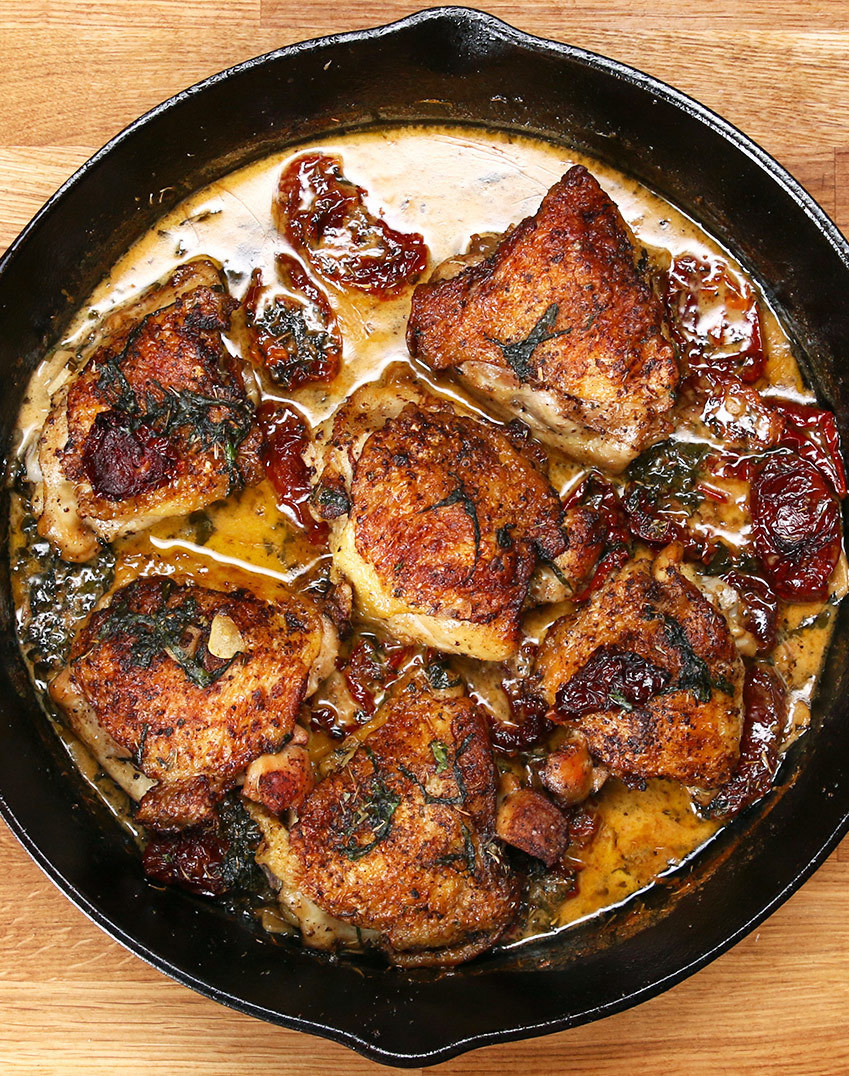 This Easy And Delicious One-Pot Chicken Recipe Will Easily Get Devoured In No Time