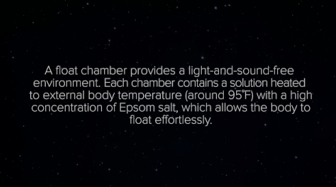 Float tanks are said to inspire creativity and reduce stress, depression, anxiety, and PTSD.