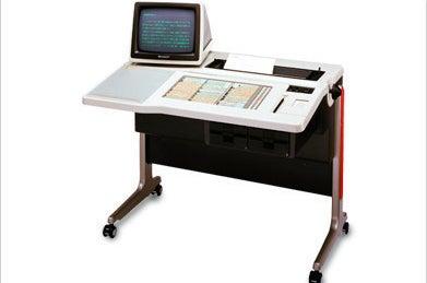初の日本語変換機能を持ったワープロ(1979)