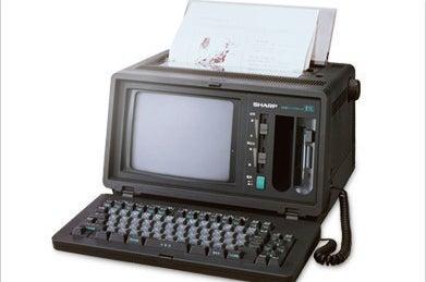 AI辞書が搭載されたパーソナルワープロ(1987)