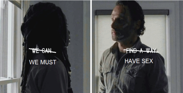 Because for so long we've been building to this Richonne moment...