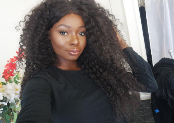 She's a 20-year-old makeup artist from Nigeria who now lives in Maryland.
