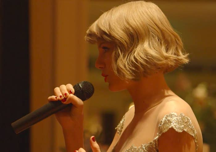 """And it basically sounds like the plotline of a Taylor Swift song.""""He would chase her and pursue her through middle school and junior high and high school, and their paths would diverge and then come back together,"""" Swift said of her best friend's new husband in the speech. """"It would be so magically unpredictable, but at the same time, so incredibly fated—just like the best love stories are."""""""