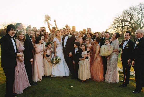 Swift and Maack grew up together in Pennsylvania, and have been close ever since.Maack married Ben Lamanna on Feb. 20th.