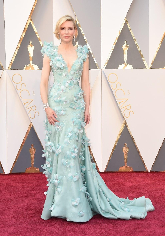 Cate Blanchett en Armani Privé.