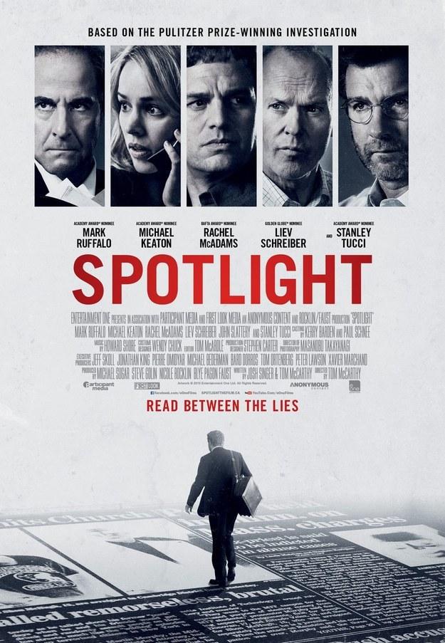 Mejor Guión Original - Spotlight