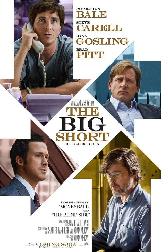 Mejor Guión Adaptado - The Big Short