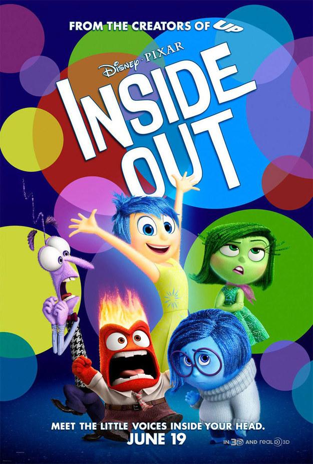 Mejor Película Animada - Inside Out