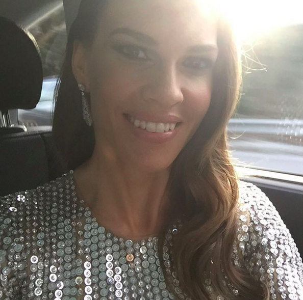 21 Behind-The-Sc...Hilary Swank Instagram