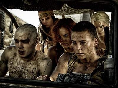 I mean, there's a reason Fury Road won the Oscar for Best Hair and Makeup.