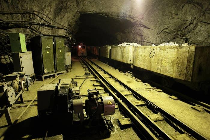 Severnaya Glubokaya mine