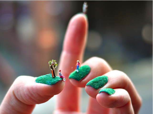 Someone, get these nails are exorcism.