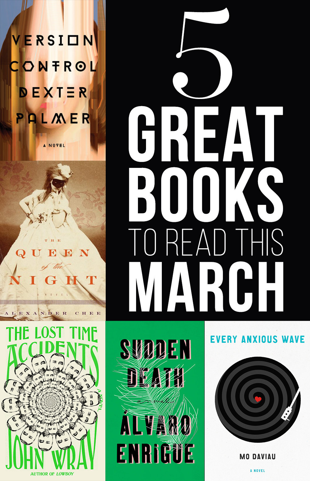 5 Great Books To Read In March
