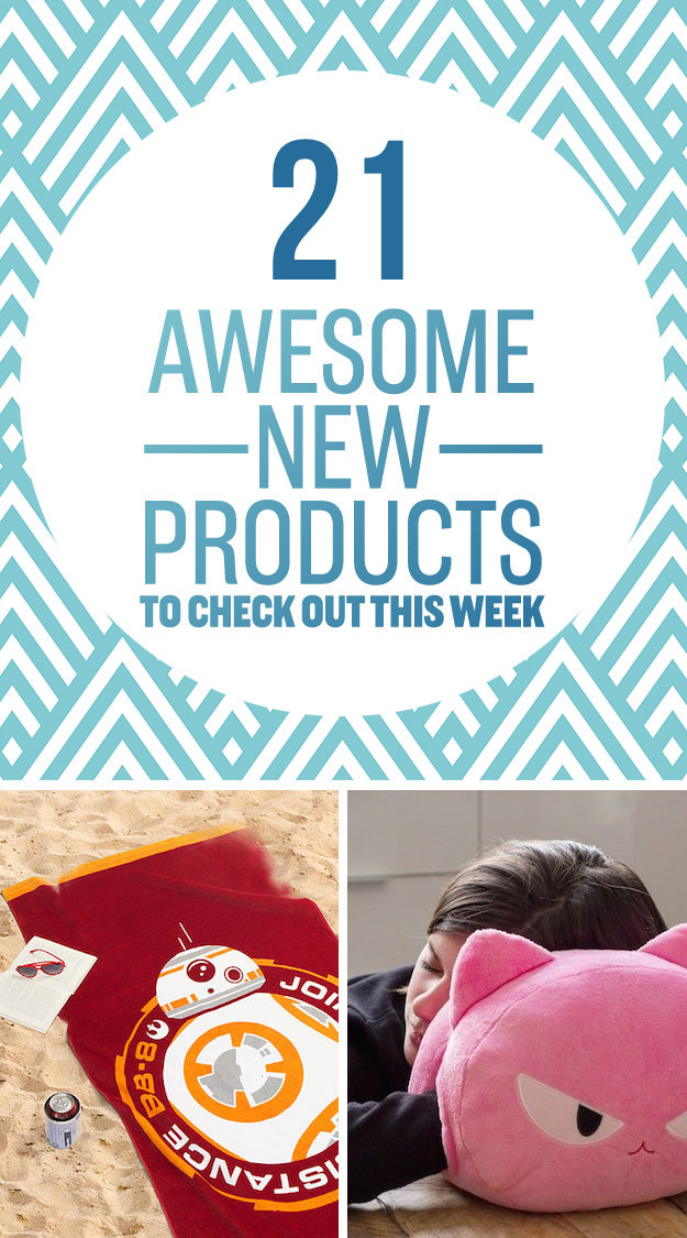 21 Insanely Awesome New Products To Check Out This Week - Buzz And ...