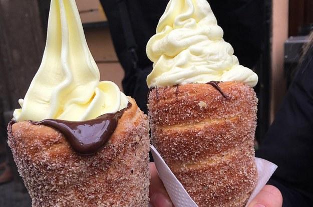 These Ice Cream–Stuffed Doughnut Cones Are What Dreams Are