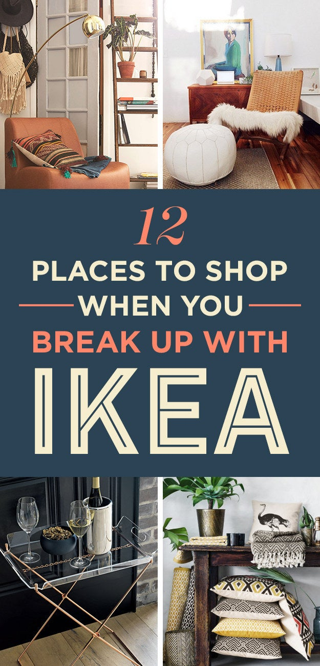 12 stores that you u0027ll want to cheat on ikea with