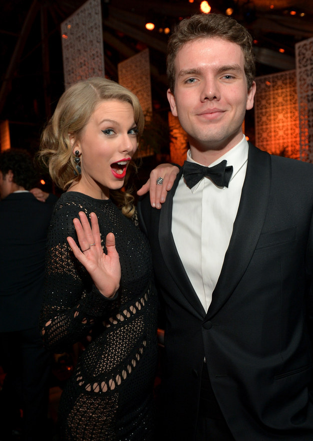 But are you familiar with Austin Swift — her super cute, smart, and hilarious little bro?