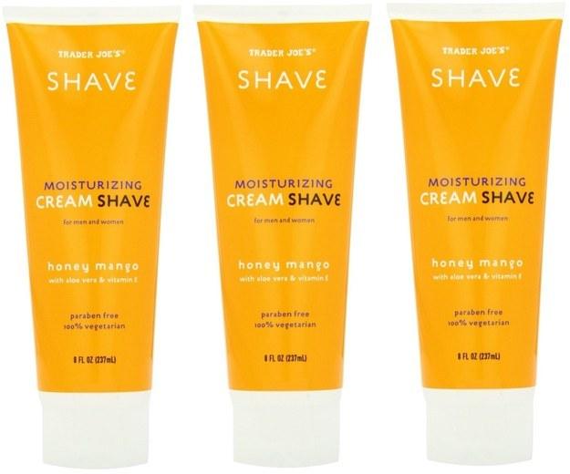Honey Mango Cream Shave