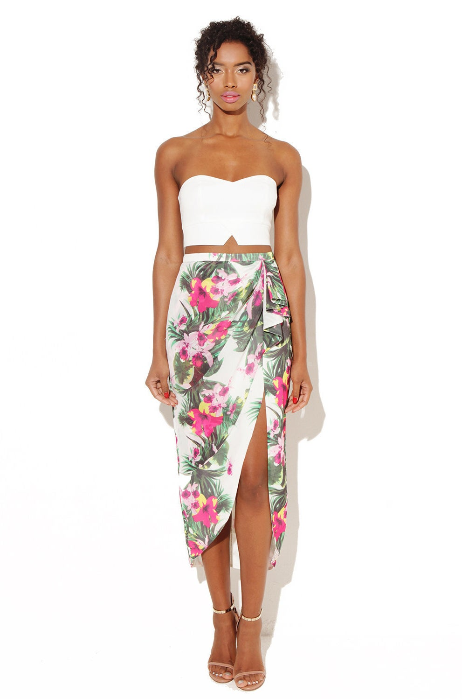 Floral Skirt, £30.00