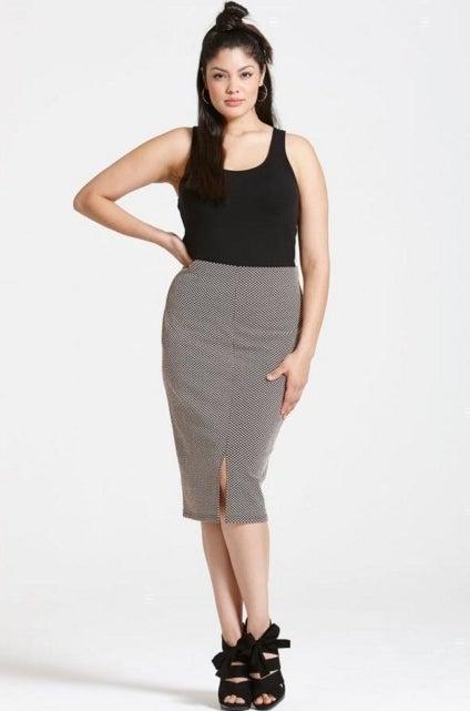Polka Dot Skirt, £22