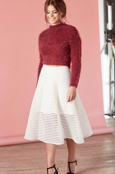 A-Line Skirt, £32.00