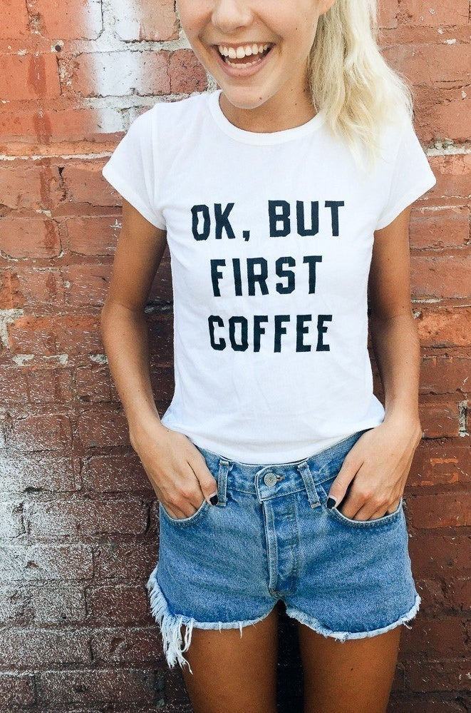 But First Coffee Top, £13.00