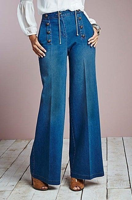 Wide Leg Jeans, £28.00