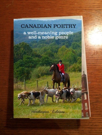 """McGimpsey told BuzzFeed Canada he """"started making book covers which kind of pick up on a satire about poetry and literature (esp. Canadian Literature) that has been in my writing."""""""