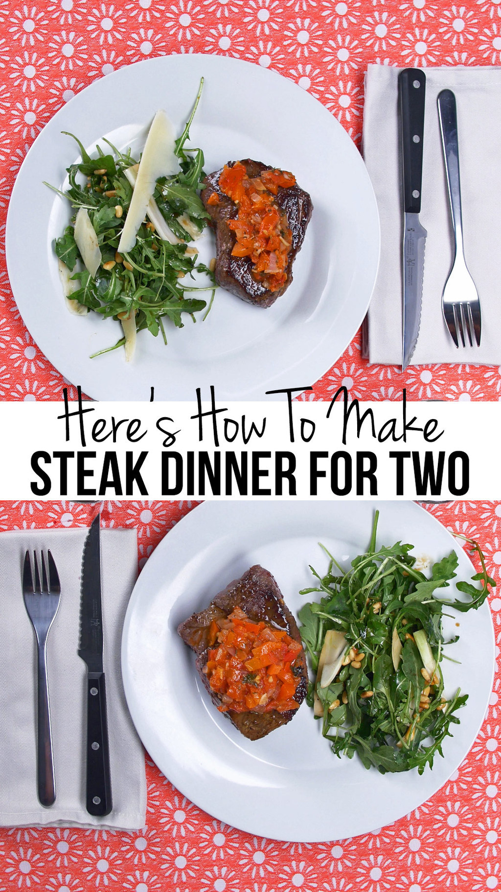 This Steak Dinner For Two Is Where It's At