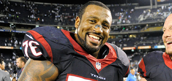 Duane Brown (#76 Houston Texans)