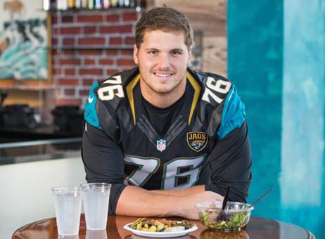 Luke Joeckel (#76 Jacksonville Jaguars)