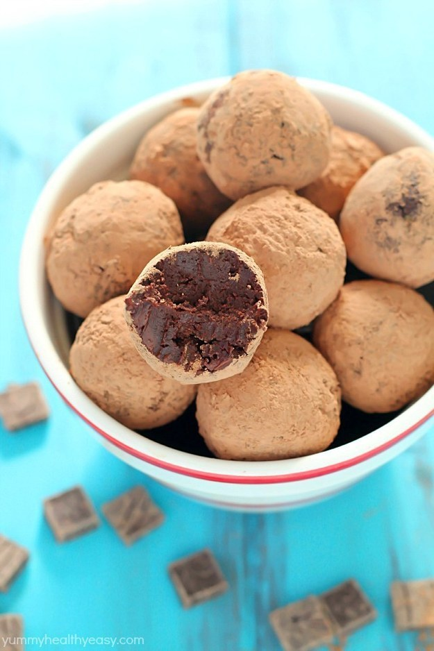 Avocado Truffle Chocolates