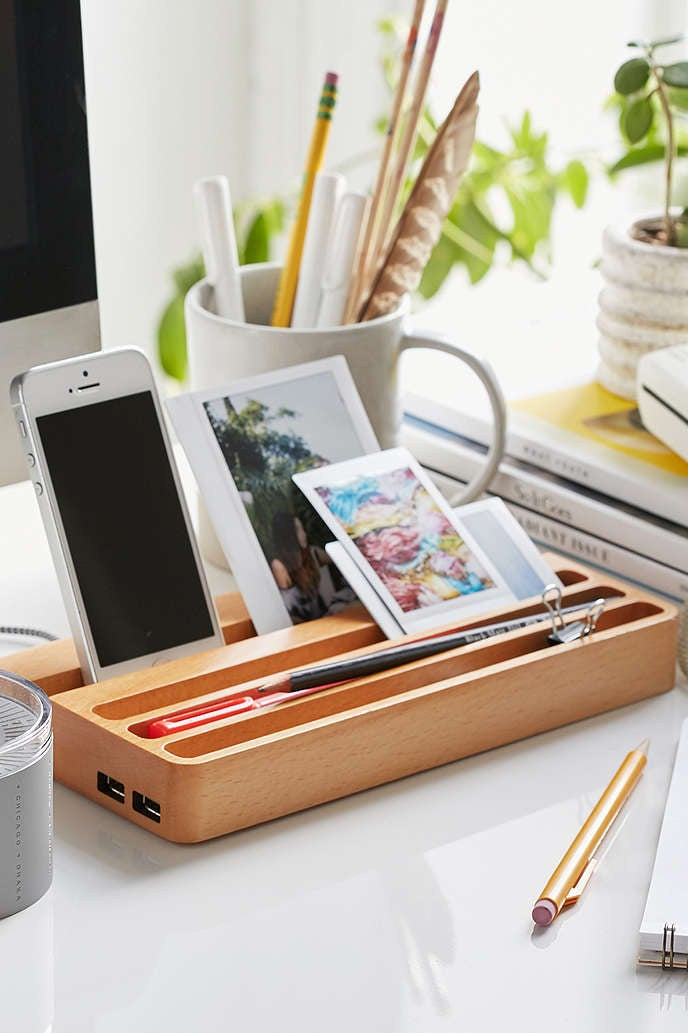 An attempt to organize your desk. Get it here.