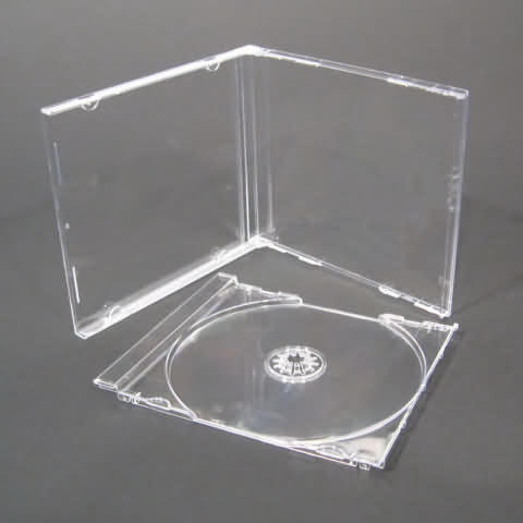 Trocar uma caixinha de CD com o meinho quebrado por outra intacta.