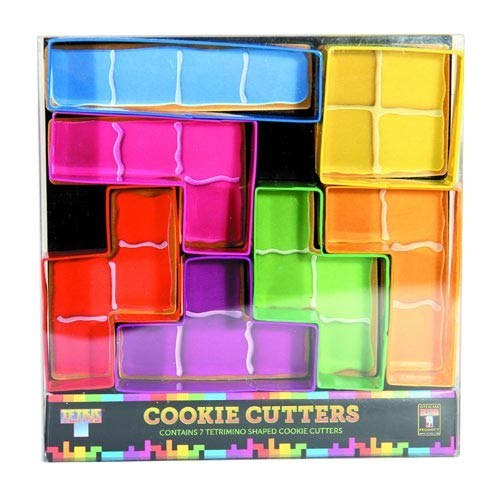 These Tetris cookie cutters.
