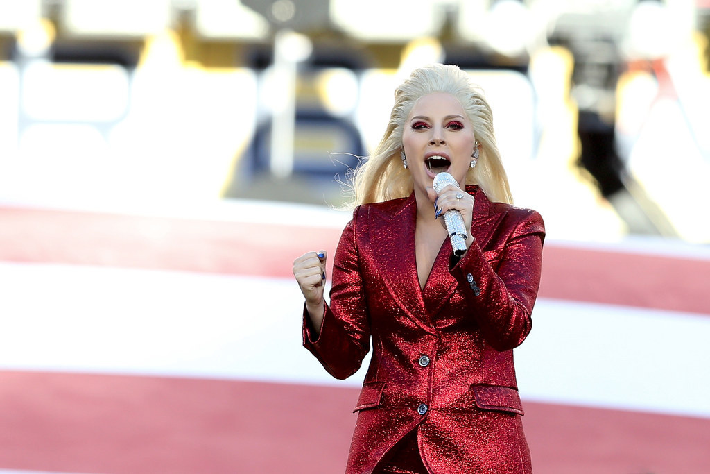Lady Gaga Totally Delivered With Her Performance Of The National Anthem