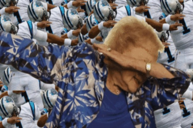 Betty White And Her Dab Just Won The Super Bowl
