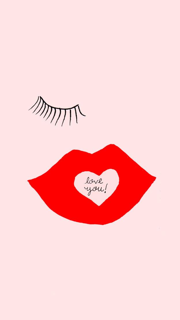 This flirty minimalist message: